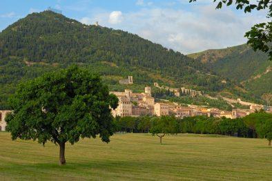 Gubbio landscape